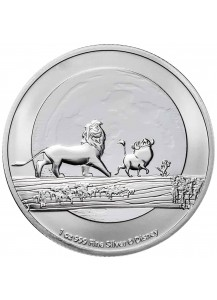 Niue 2021  Disney HAKUNA MATATA -  König der Löwen Silber 1 oz