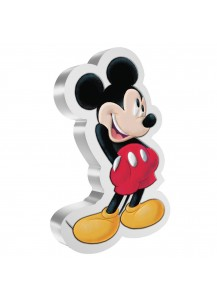 Niue 2021  Mickey Mouse - Mickey & Friends Shapes  Silber 1 oz