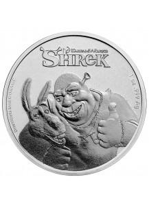 Niue 2021   SHREK   Silber 1 oz