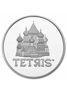 Niue 2021  TETRIS St. Basils Cathedral  Silber 1 oz