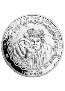 Neuseeland FRODO - Herr der Ringe Silber 1 oz