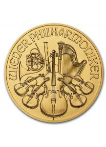 Österreich  2021 Wiener Philharmoniker Gold 1 oz