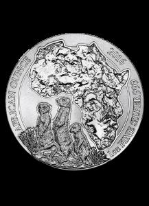 Ruanda 2016 Erdmännchen 1 oz Silber