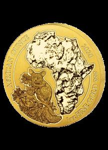Ruanda 2020  Bushbaby 1 oz  Gold