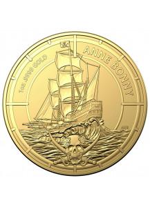 Salomon Inseln 2021  Anne Bonny Gold 1 oz