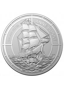 Salomon Inseln 2021  Anne Bonny Silber 1 oz