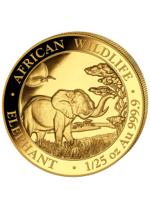 Somalia 2019   Elefant    Gold 1/25 oz