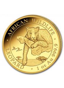 Somalia 2020  Leopard  Gold 1 oz