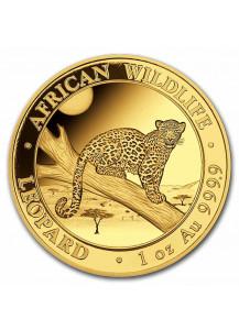 Somalia 2021  Leopard  Gold 1 oz