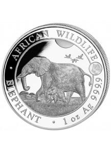 Somalia 2022 Elefant   Privy Tiger  1 oz Silber