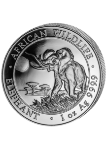 Elefant 2016 Somalia 1 oz Silber