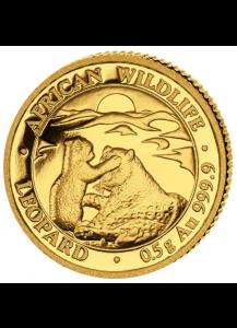 Somalia  2019  Leopard   Gold 0,5 g