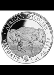 Somalia 2020 Elefant   Privy Maus  1 oz Silber