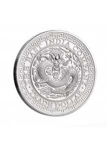 St. Helena 2019  Chinese Trade Dollar Silber 1 oz