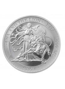 St. Helena 2021 Una & The Lion  Silber 1 oz