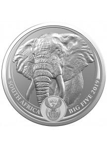 Südafrika 2019  BIG FIVE - ELEFANT Silber 1 oz