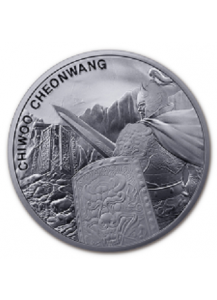 Südkorea 2020  Chiwoo Cheonwang Silber 1 oz