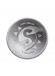 Tokelau 2020 Equilibrium - Gleichgewicht Silber 1 oz
