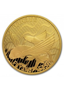 Tokelau 2020  FLYING FISH - Hahave Gold 1 oz