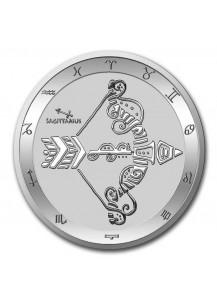 Tokelau 2021 Zodiac - Sternzeichen Schütze - Sagittarius Silber 1 oz