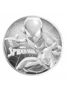 Tuvalu 2017  Marvel Spiderman Silber 1 oz