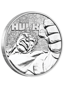 Tuvalu 2019  Marvel  HULK   Silber 1 oz