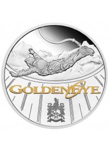 Tuvalu 2020  GOLDENEYE - JAMES BOND 007  Silber 1 oz  PP