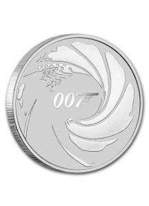 Tuvalu 2020  JAMES BOND 007 Silber 1 oz