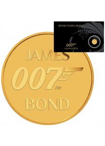 Tuvalu 2020  JAMES BOND 007 Gold 0,5 g Blister