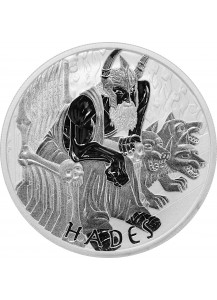 Tuvalu 2021  Hades - Gods of Olymp Silber 5 oz