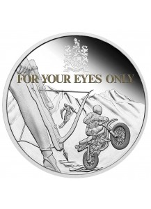 Tuvalu 2021 FOR YOUR EYES ONLY - JAMES BOND 007  Silber 1 oz  PP