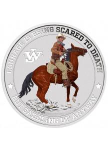 Tuvalu 2021  John Wayne - The Duke Silber FARBE   1 oz