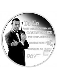 Tuvalu 2021 LEGACY SERIE - JAMES BOND 007  Silber 1 oz  PP