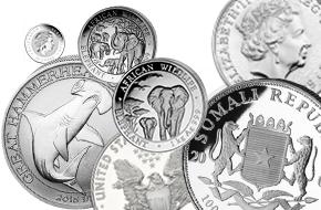 Silbermünzen günstig online kaufen